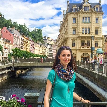 Girl in Karlovy Vary