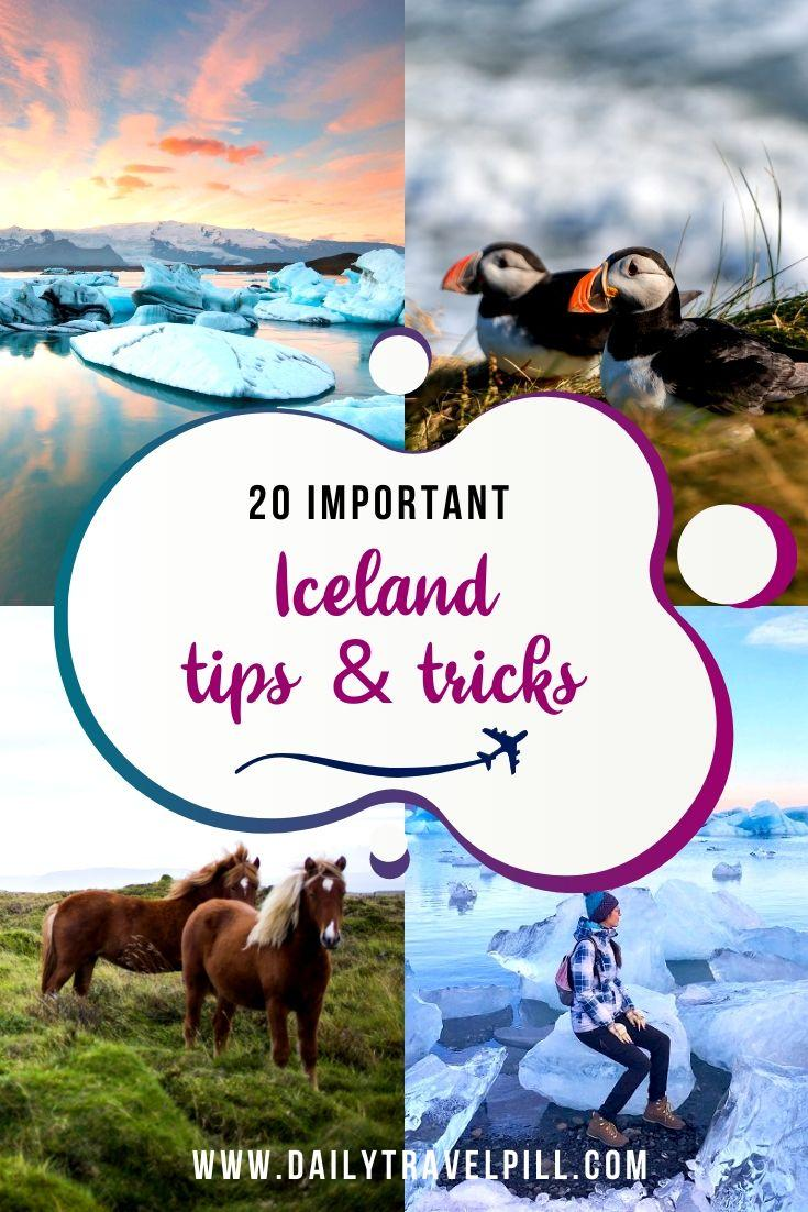 tips and tricks for traveling to Iceland