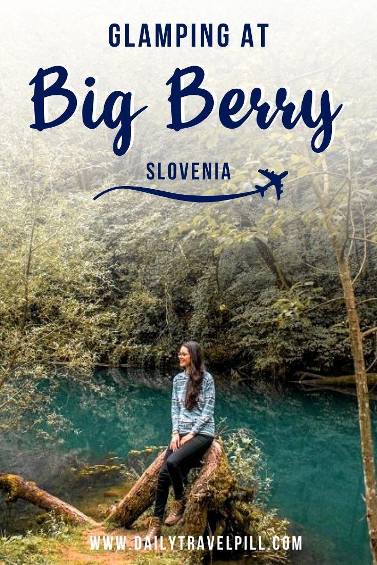 Glamping at Big Berry Sovenia, Bela Krajina