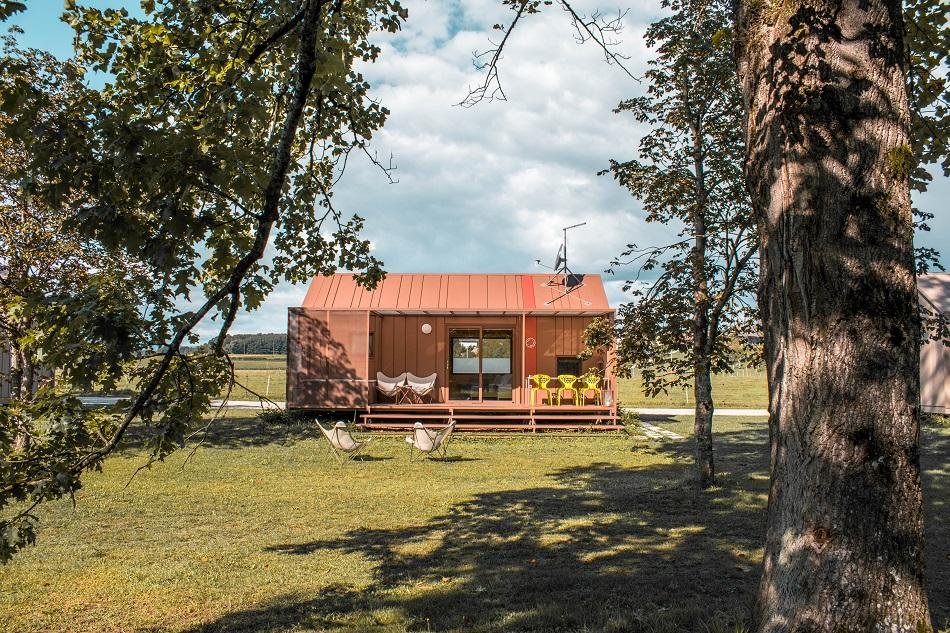 Luxury glamping at Big Berry Slovenia house
