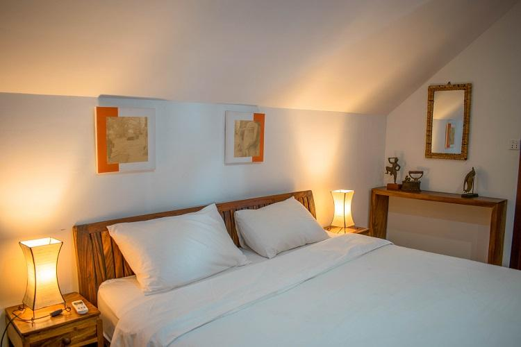 Sok San Beach Resort bed - room interior