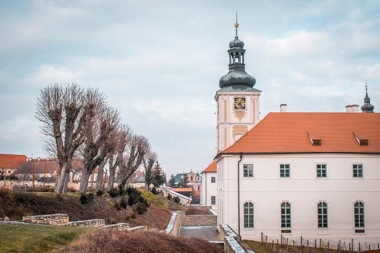 Streets in Kutna Hora, Czech Republic