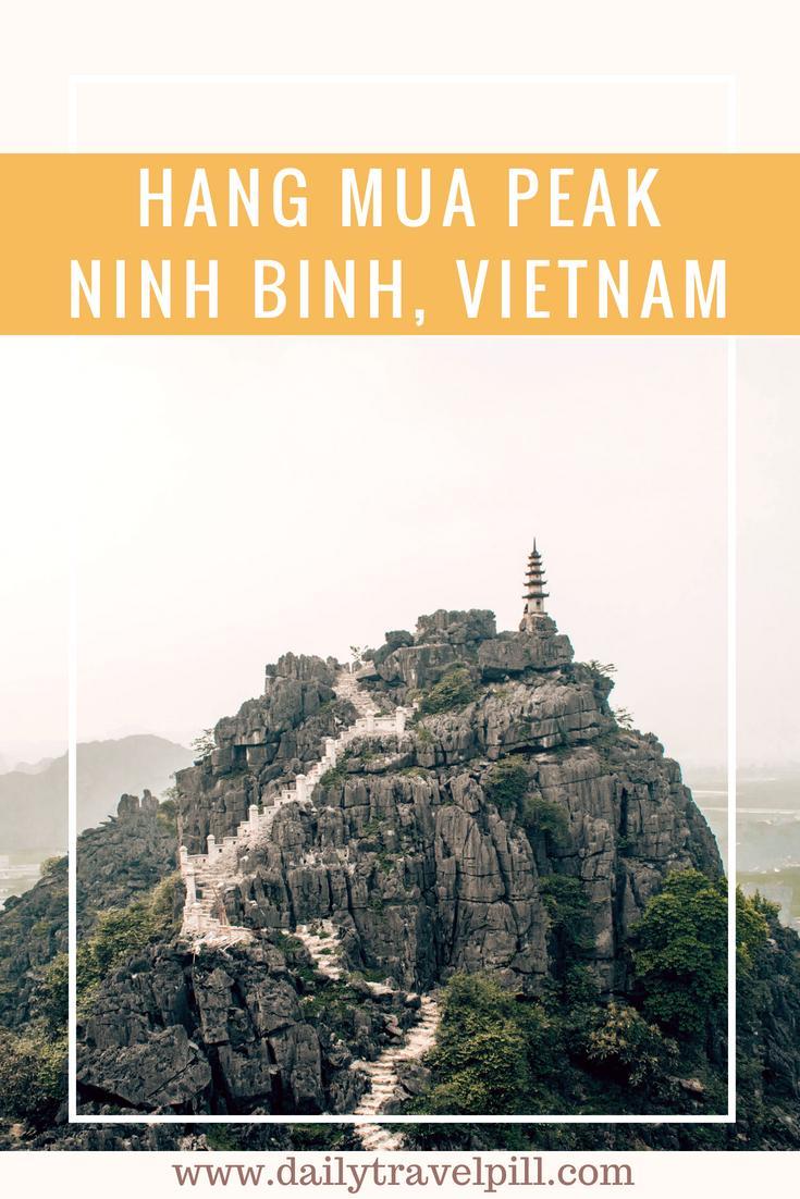 Hang Mua Peak Ninh Binh attraction