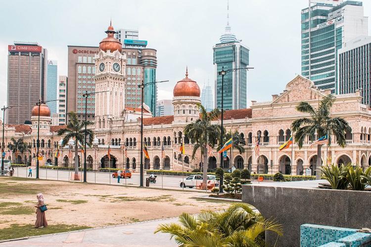 View of Sultan Abdul Samad Kuala Lumpur
