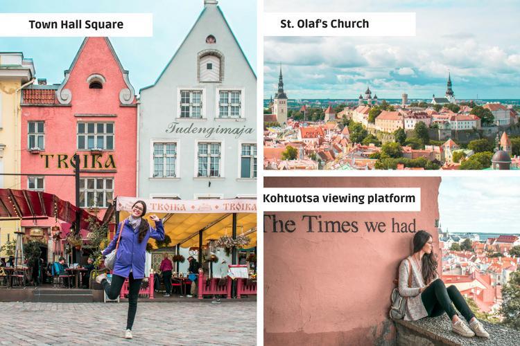 Tallinn Old Town photos
