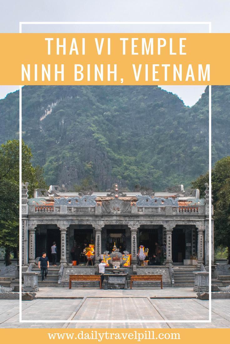 Thai Vi Temple Ninh Binh Province