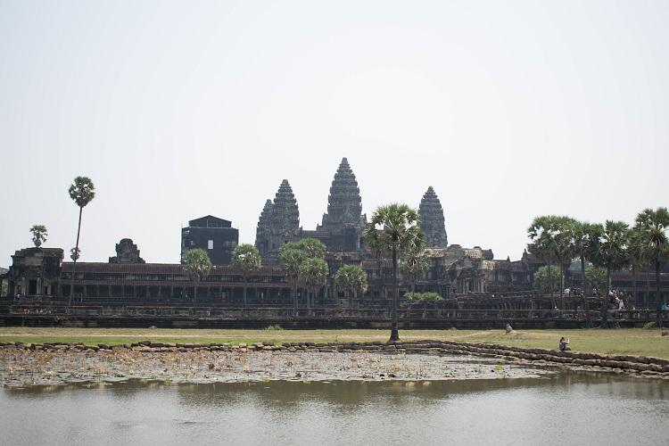 Angkor Wat front view