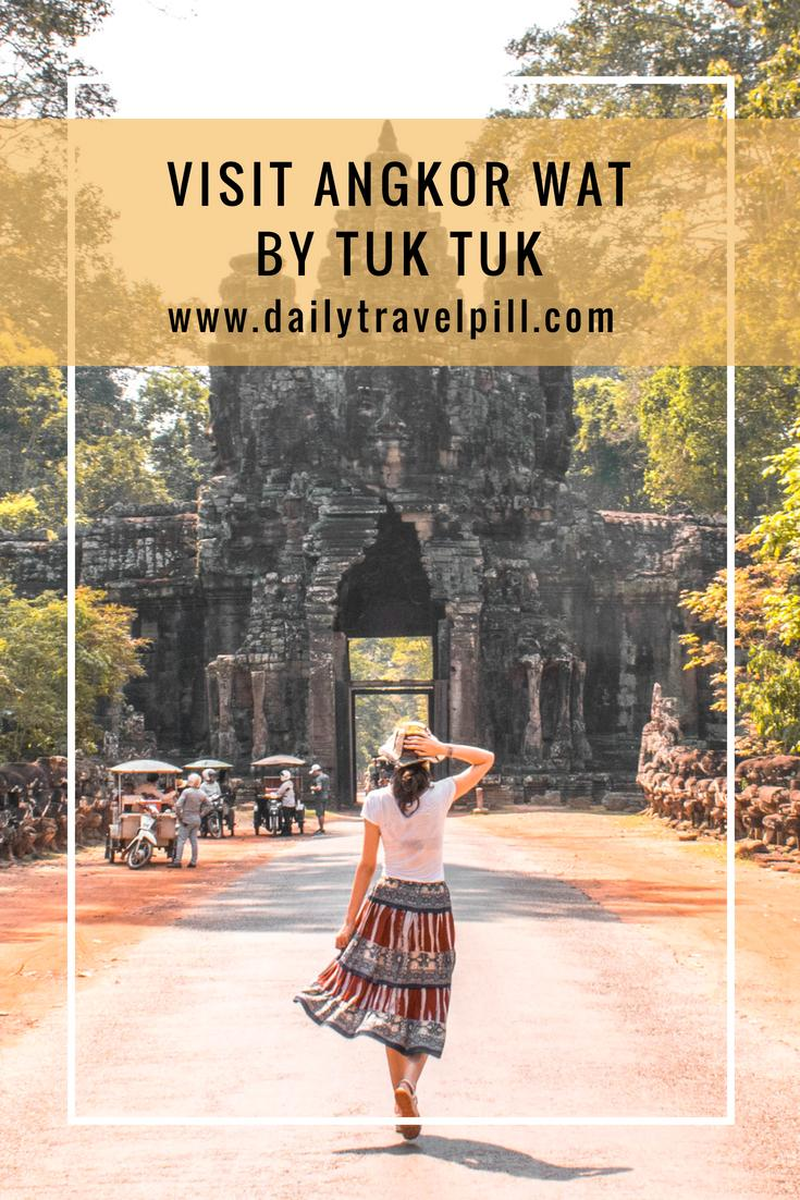 Visit Angkor Wat by tuk tuk and find your driver