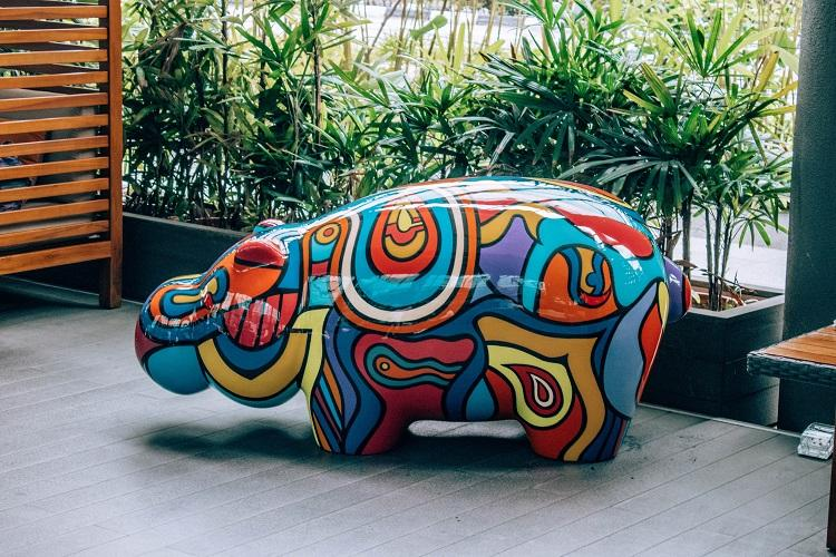Holiday Inn Express Clarke Quay Singapore save the hippos campaign