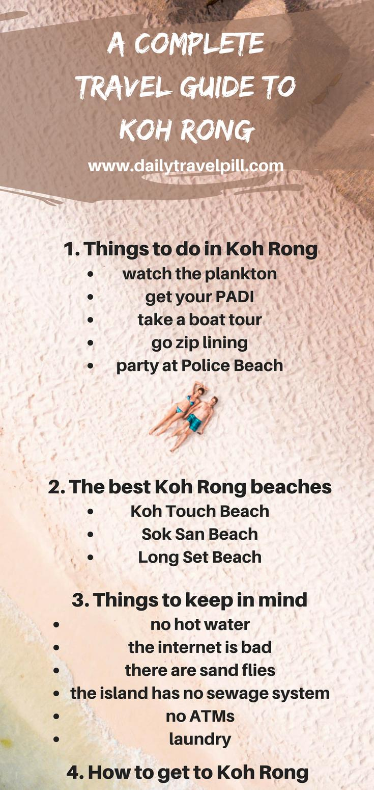 Koh Rong things to do and see