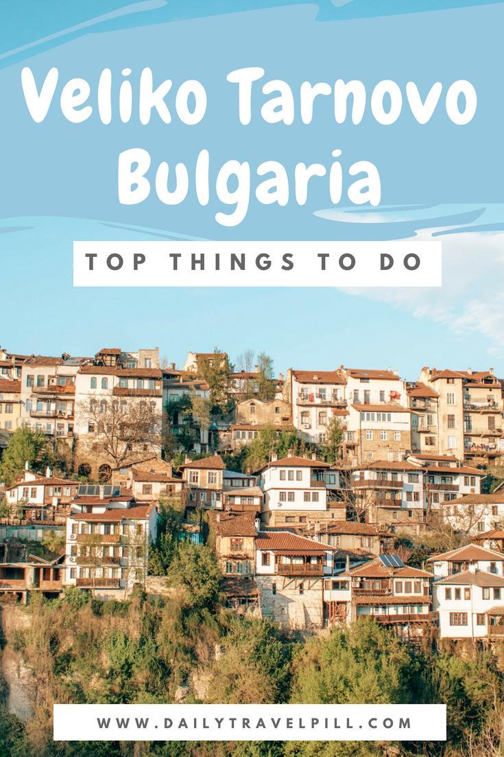 One day in Veliko Tarnovo Bulgaria