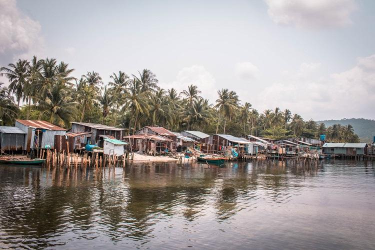 Phu Quoc floating village
