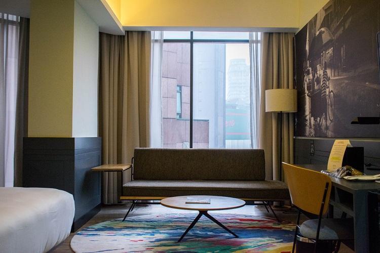 The Kuala Lumpur Journal Hotel room interior - work space