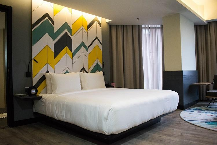 The Kuala Lumpur Journal Hotel room and bed