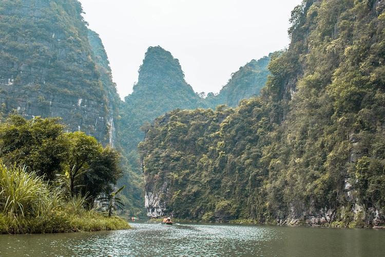 Amazing view from Trang An, Ninh Binh