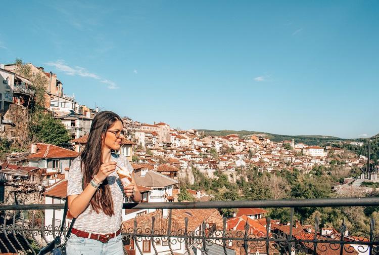 Veliko Tarnovo panoramic view