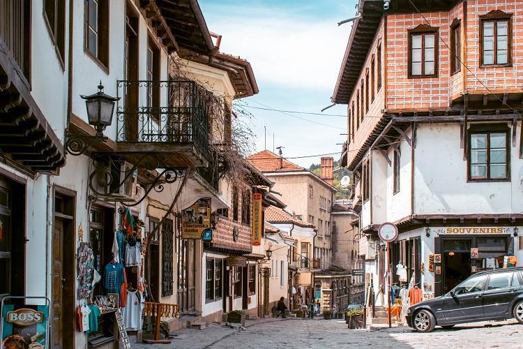 Veliko Tarnovo shopping street