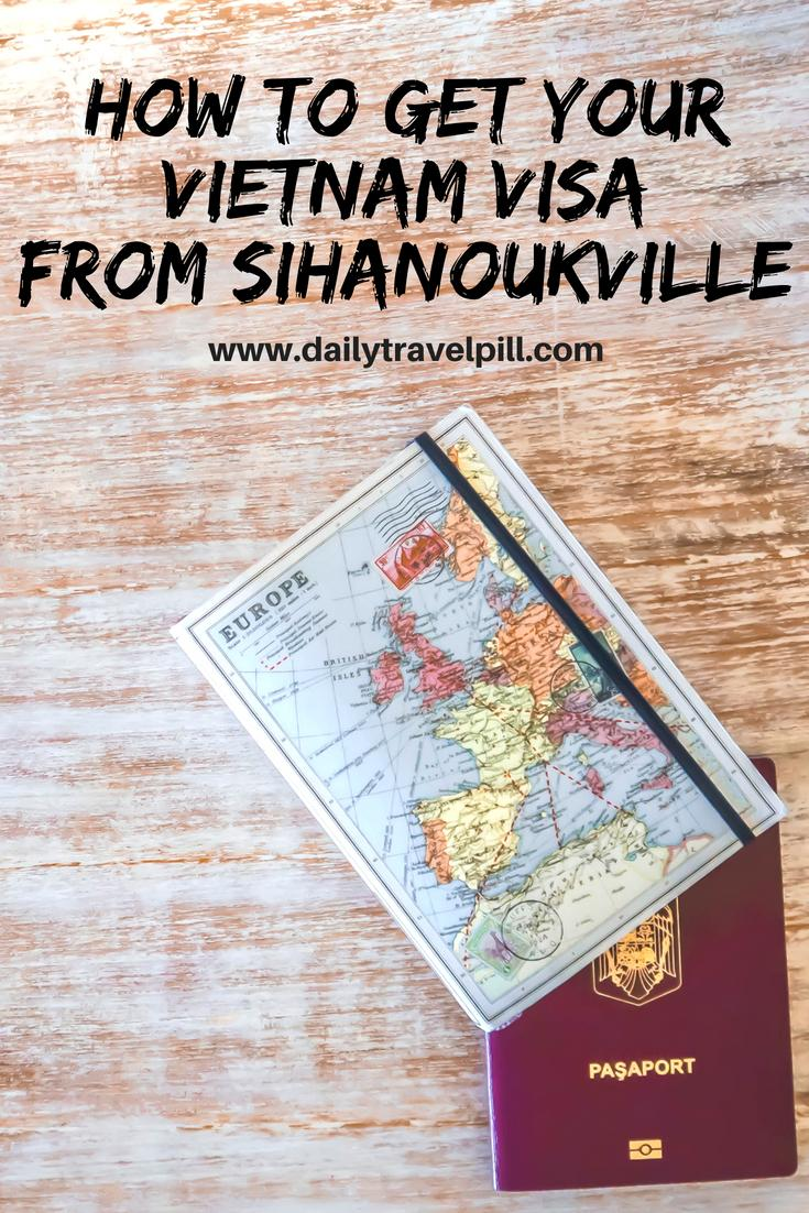 get your Vietnam visa from Sihanoukville