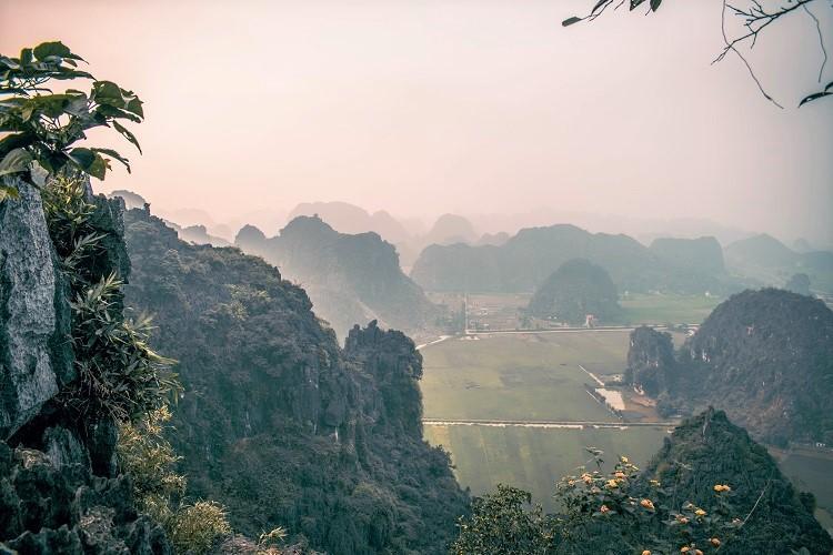 Hang Mua Cave Ninh Binh panoramic view