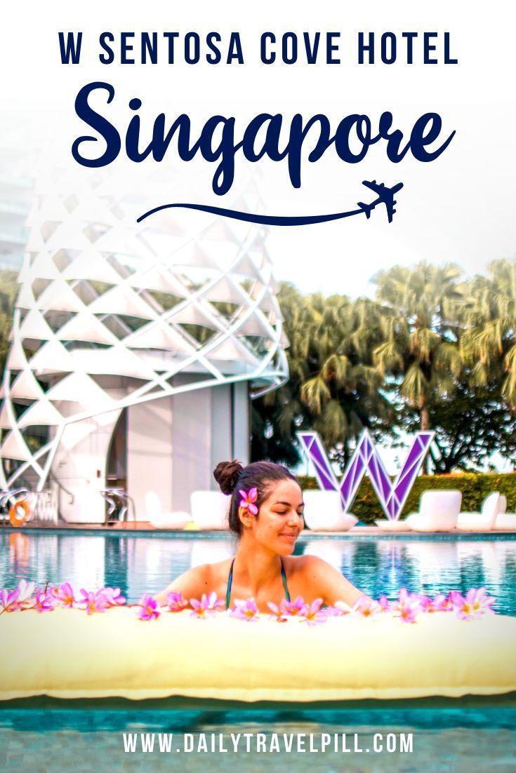 W Singapore Sentosa Cove Hotel Review
