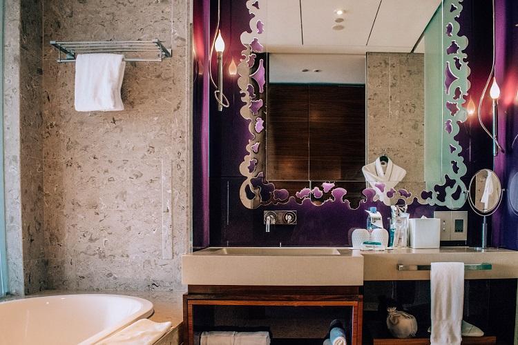 W Singapore Sentosa Cove Hotel bathroom interior
