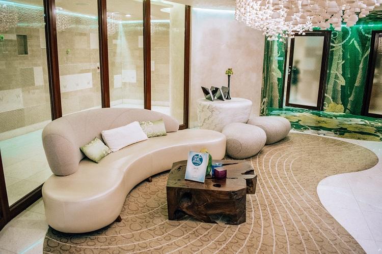 W Singapore Sentosa Cove Hotel spa lobby