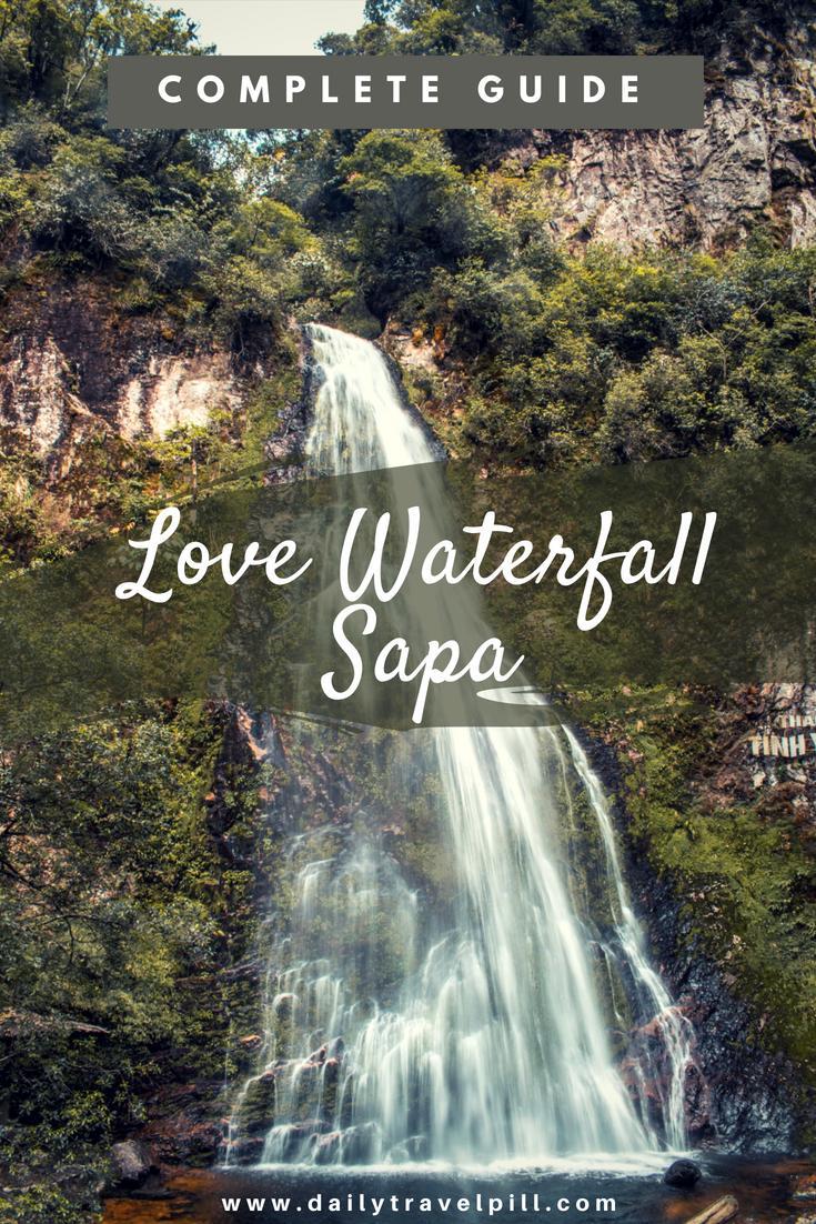 Love Waterfall Sapa, Vietnam