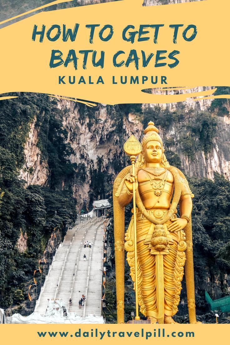 Transport options to Batu Caves from Kuala Lumpur