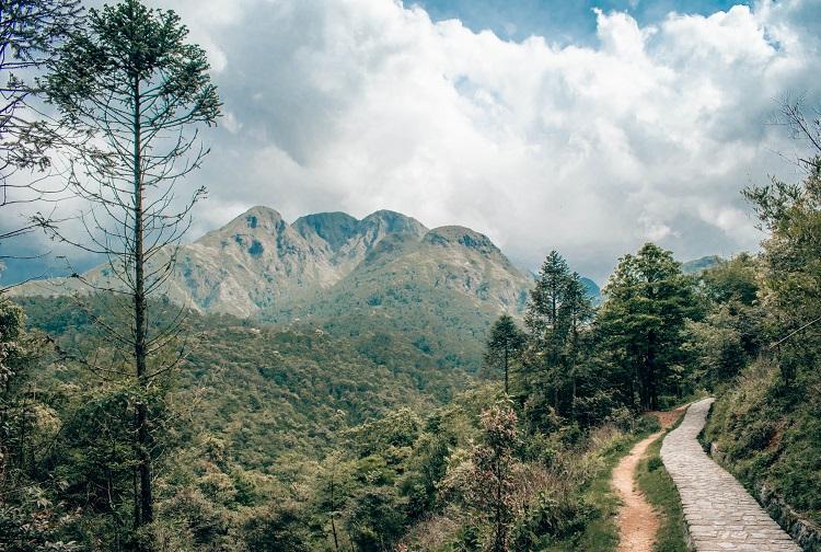 path to Love Waterfall, Sapa, Vietnam