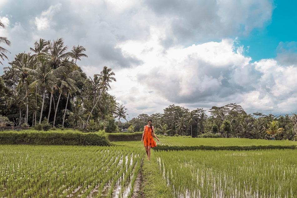 Road to Tibumana Waterfall Bali