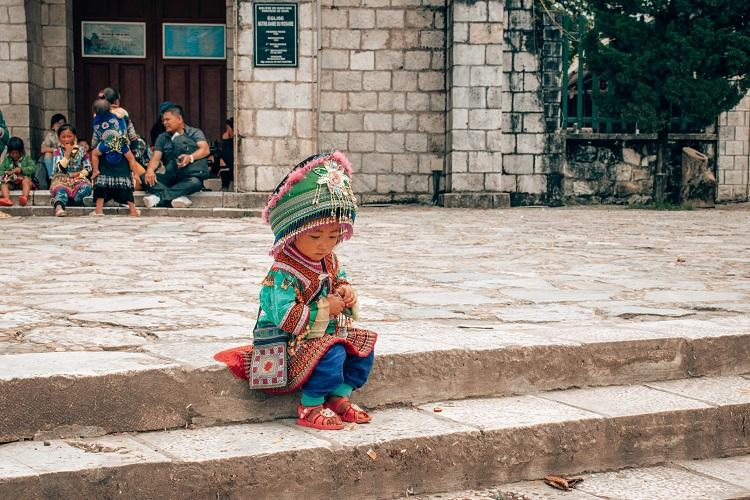 Sapa ethnic minority child