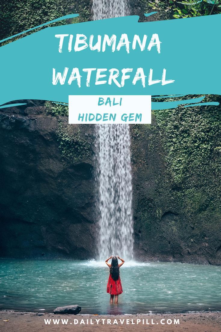 Tibumana Waterfall Bali - a hidden gem near Ubud