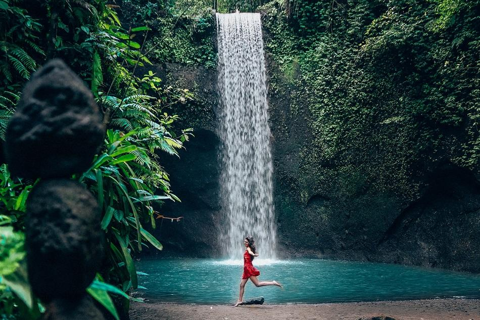 Tibumana Waterfall Bali, waterfall near Ubud