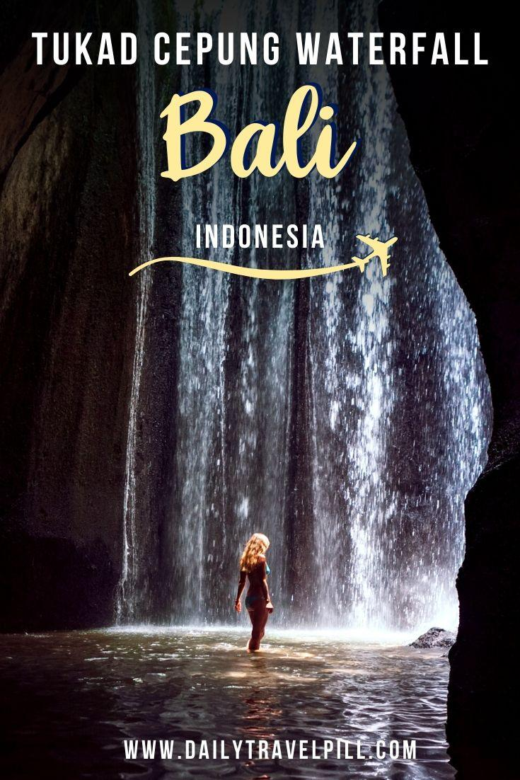 Tukad Cepung Waterfall, Bali