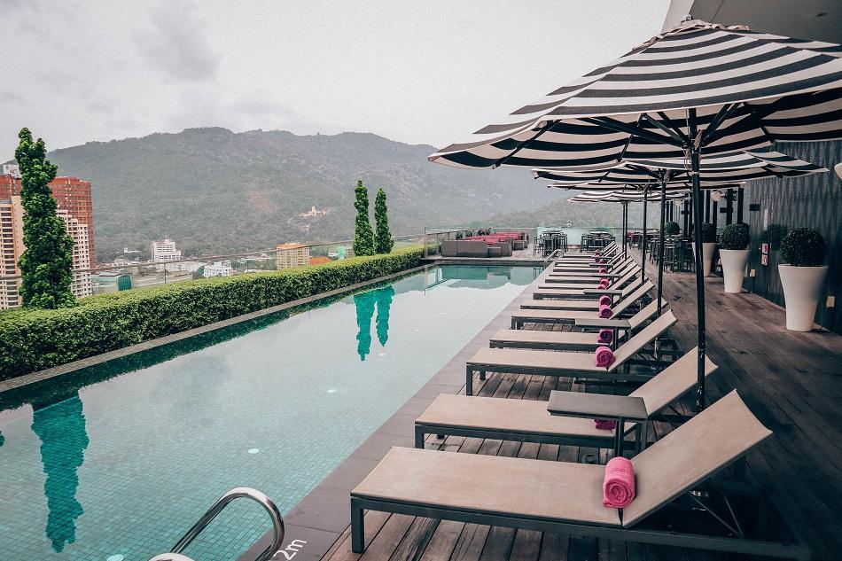 G Hotel Kelawai George Town rooftop infinity pool