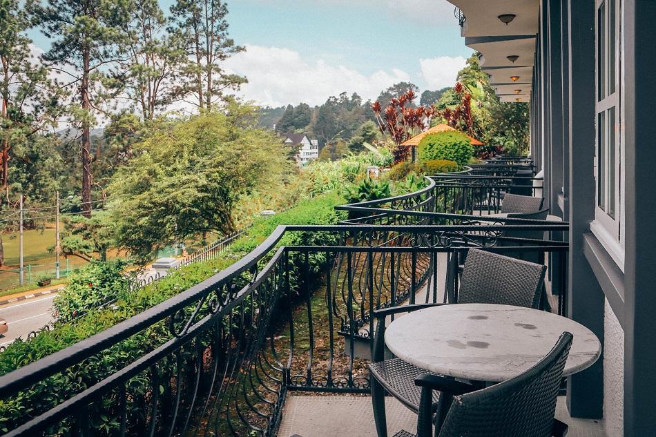 Cameron Highlands Resort room terrace, balcony