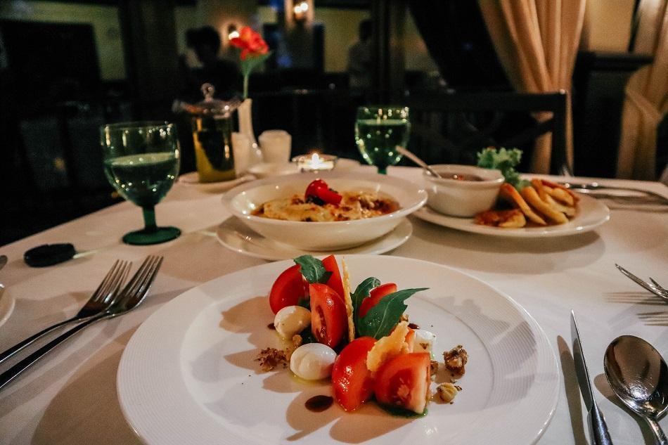 Dinner at the Dining Room, Cameron Highlands Resort