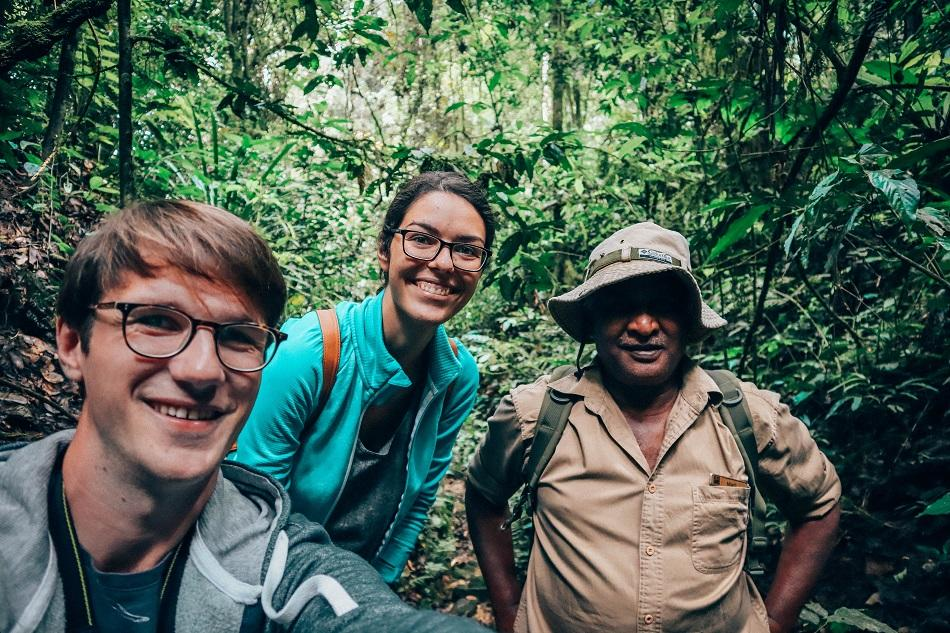 Jim Thompson Mystery Trail at Cameron Highlands Resort with naturalist Madi