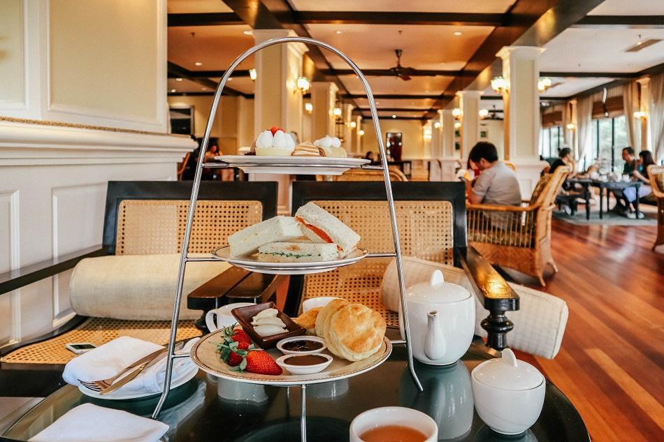 Afternoon tea at Jim Thompson Tea Room - Cameron Highlands Resort