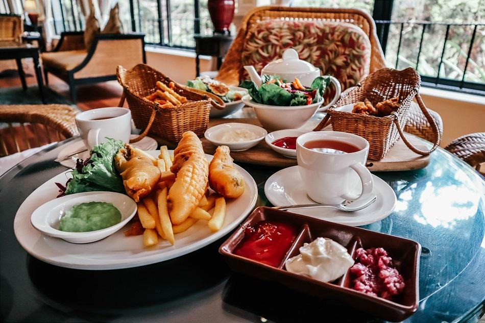 Lunch at Jim Thompson Tea Room - Cameron Highlands Resort
