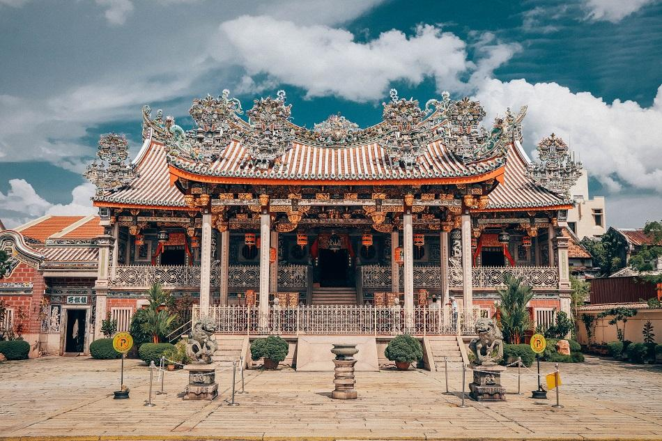 Khoo Kongsi Chinese temple clanhouse in George Town, Penang - what to do in Penang itinerary