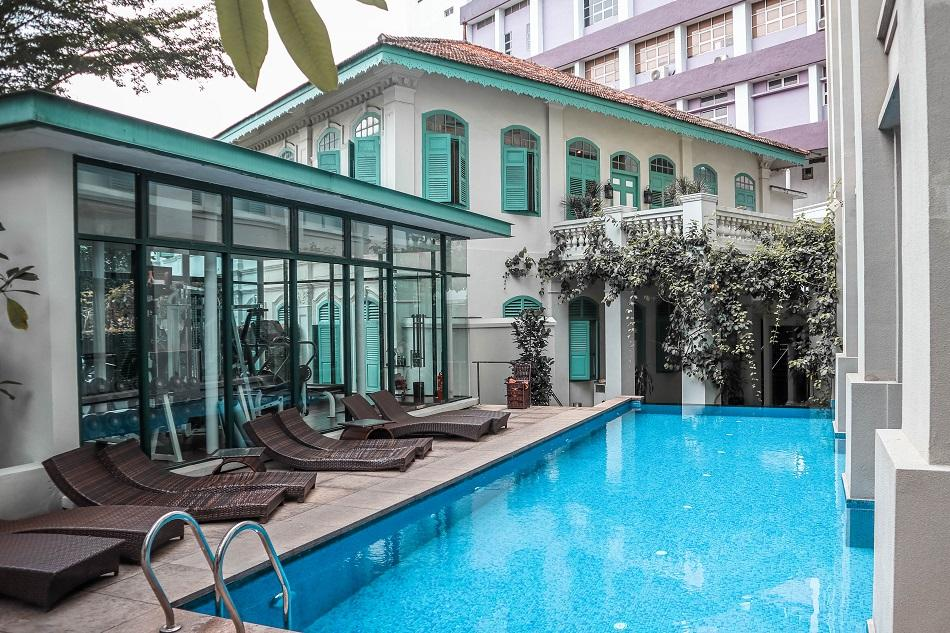 The Majestic Hotel Malacca pool and gym