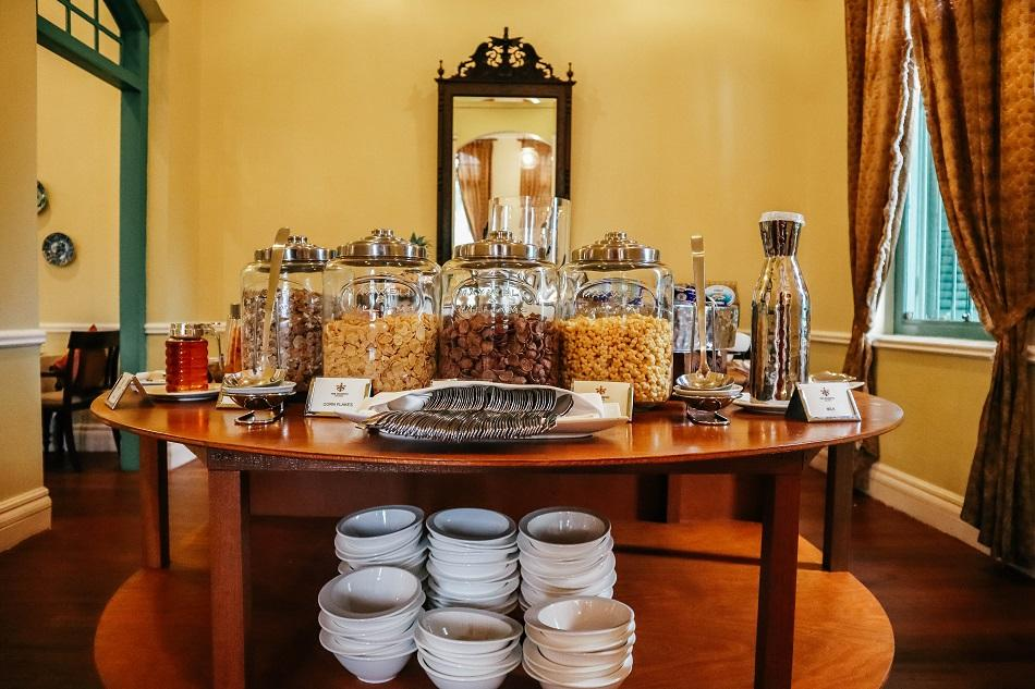 Breakfast at The Majestic Malacca Hotel - Melba at the Mansion