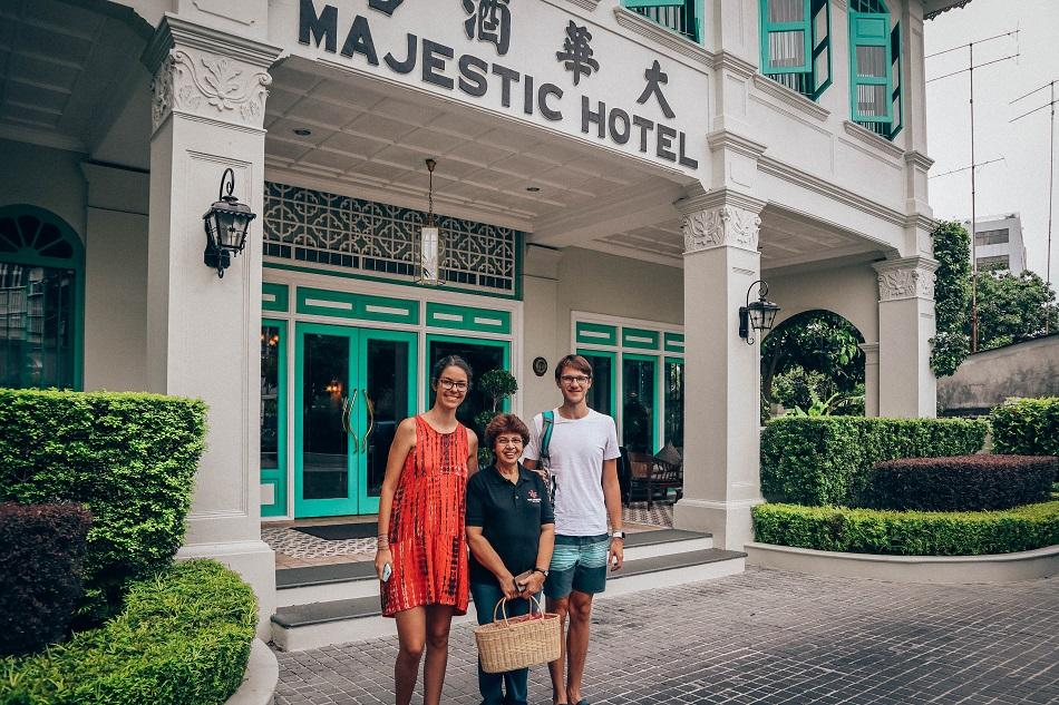 The Majestic Hotel Malacca Chef Melba