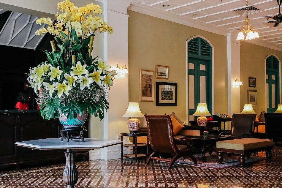 The Majestic Malacca Hotel lobby