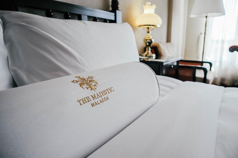 The Majestic Malacca Hotel room bed
