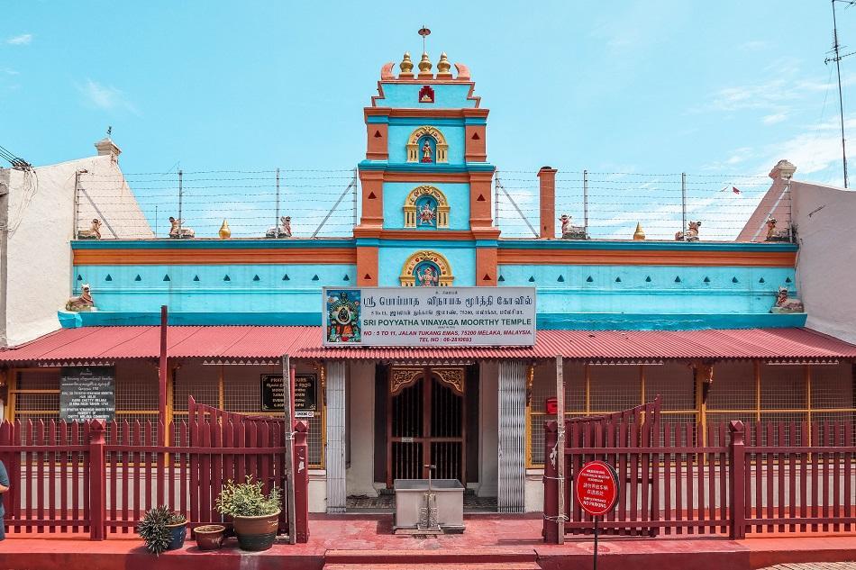 Sri Poyyatha Vinayaga Moorthy Temple Melaka Malacca