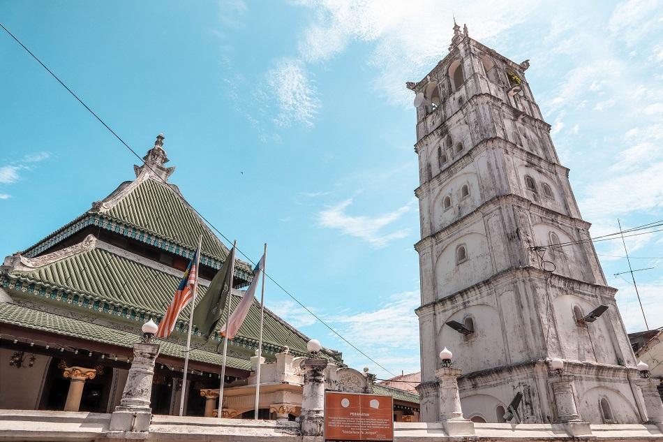 Masjid Kampung Kling Mosque Melaka Malacca