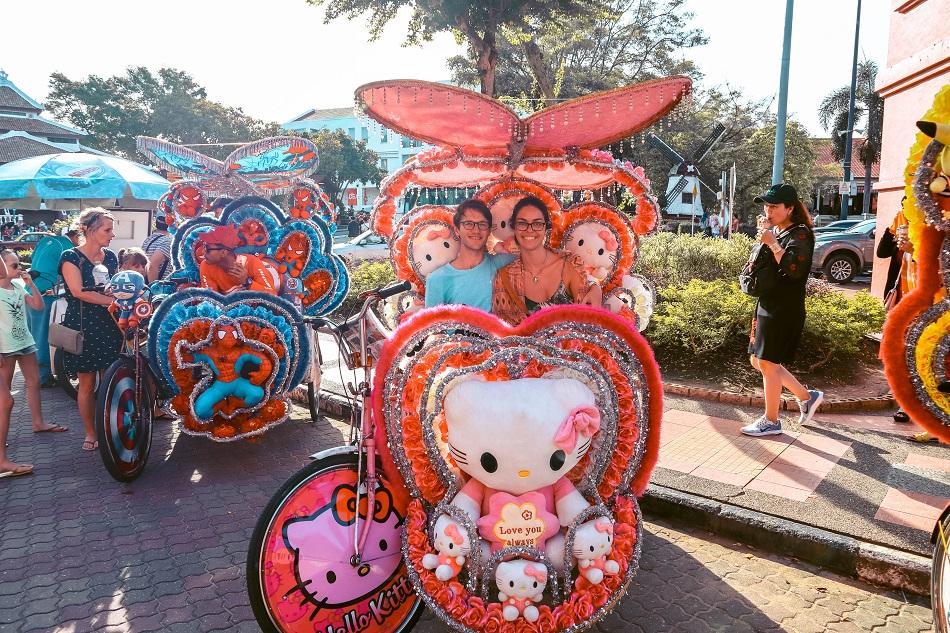 Trishaw in Melaka Malacca