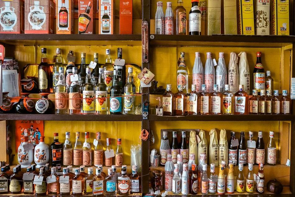 Sin Hiap Hin traditional Chinese liquor store Melaka Malacca